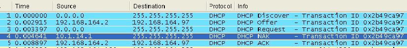 《一个DHCP问题的分析过程》